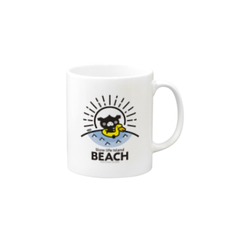 はちエンピツのocton Slow life Island BEACH #basic Mugs
