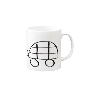 かめさん Mugs