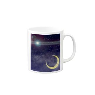 Cosmic Light Mugs