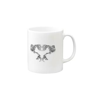 【Heart Rocaille】 Mugs