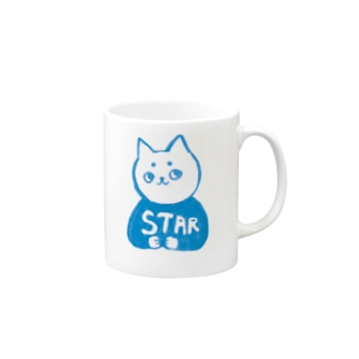 麻呂眉川さん「STAR」 Mugs