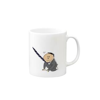 出勤イヤイヤおじさん Mugs