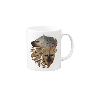 荒野のハイエナ Mugs