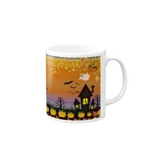 スプーキーハロウィンナイトはこれだ! Mugs