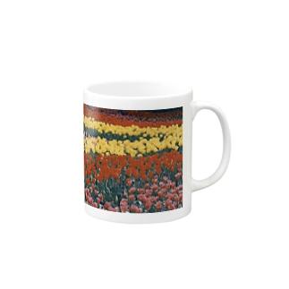 虹色の道 Mugs