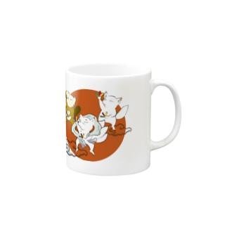 オタゲー妖狐 マグカップ