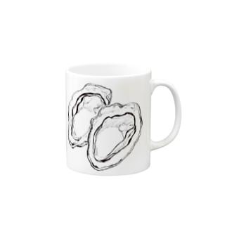 オイスター Mugs