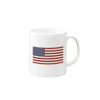 アメリカ 国旗 Mugs