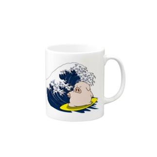 海豚 Mugs