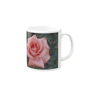 恋愛のお守り~バラの花言葉は愛情 Mugs