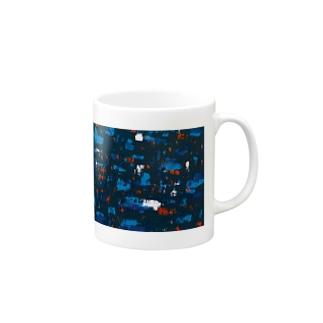 Midnight Blue Mugs