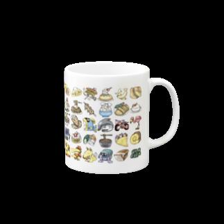 タヌマスクのアイコンマグカップ