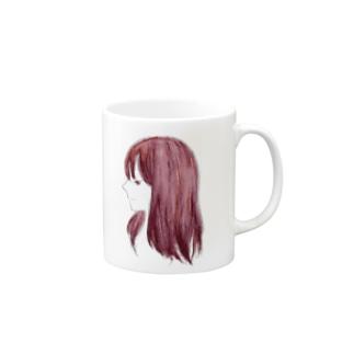 エンヴィ (ポスタライズ) Mugs