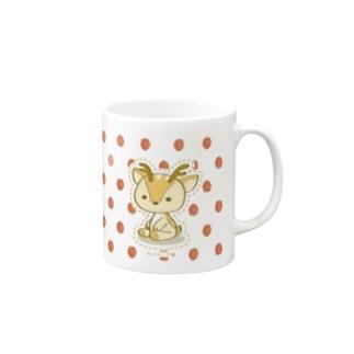 ボク鹿*strawberry Mugs