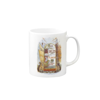 The British Library - The World's Explorers; or, travels and adventures. Illustrated, etc Mugs