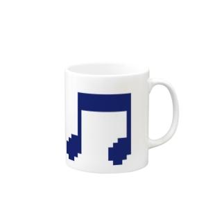 音符アイコン2 Mugs