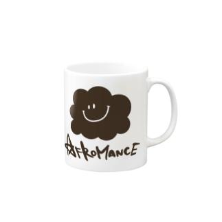 アフロマンス・ロゴ マグカップ