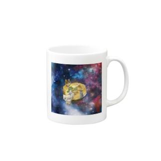 space catとなかまたち Mugs