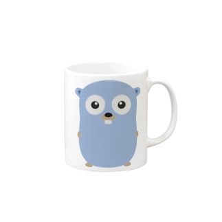Gopher front Mugs