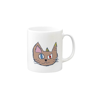 おにねこ Mugs