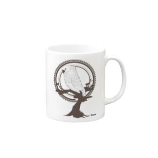 鳥グッズ(タイハクオウム) Mugs