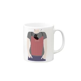 cat_in_apron_01 Mugs