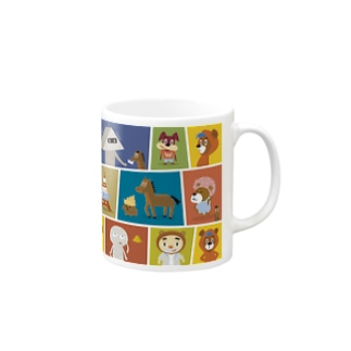 Wooofys cartoon Mugs