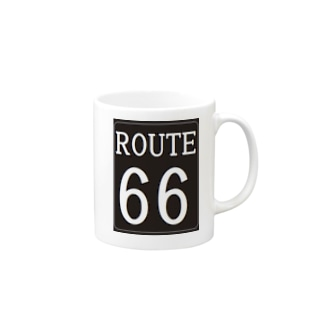 ROUTE66 グッズ サンタモニカ Mugs