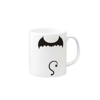 悪魔の羽-ミニデビル Mugs