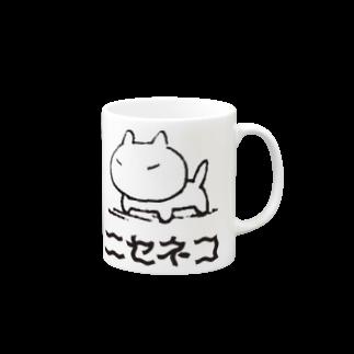 タヌマスクのニセネコ マグカップ