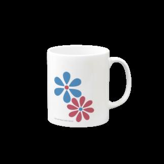 DAISY CREATE | デイジークリエイト | 愛と情熱を日常で感じるのデイジーロゴ マグカップ