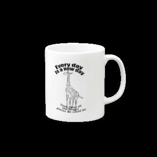 My designのGiraffe Mugs