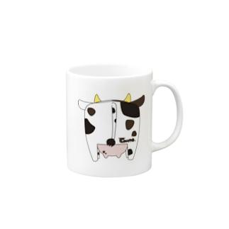 牛尻 小 Mugs