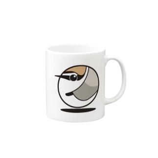 シロチドリ Mugs