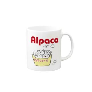 ぷりてぃアルパカ Mugs