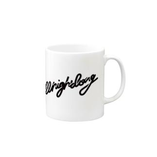all night long -black- Mugs
