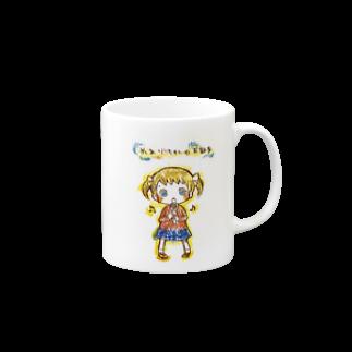 すぺーすMOON-LIGHTの歌うめありちゃんマグカップ Mugs