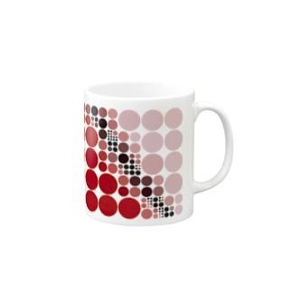 水玉シリーズ07 マグカップ