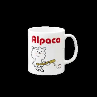 ぷりてぃアルパカのぷりてぃアルパカ Mugs