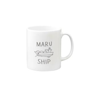 MARU☺︎SHIP(LNG船) Mugs