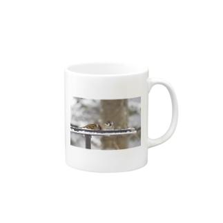 スズメ Mugs