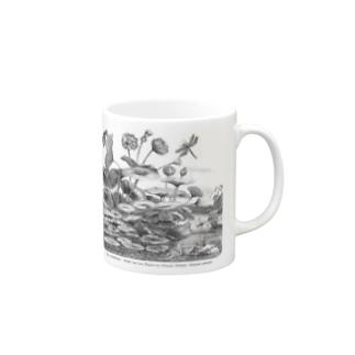 蓮の花 - The British Library Mugs
