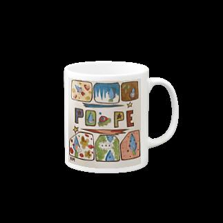 ポペ星人のポペカップ Mugs