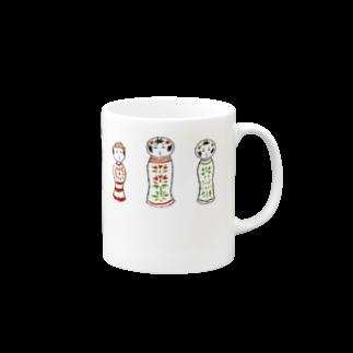 magoのこけしーず マグカップ Mugs