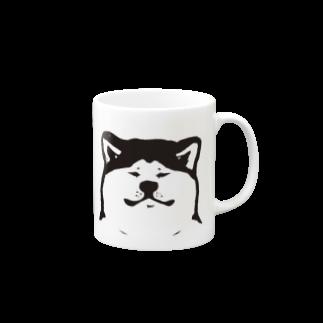 せいこせんせいの秋田犬【せいこせんせい】犬 Mugs