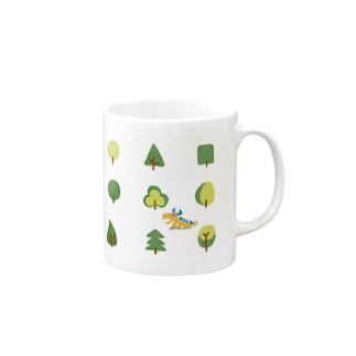 zentoyのwoods and dragon Mugs