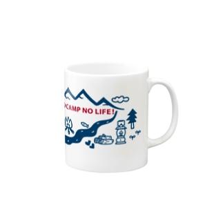 NO CAMP NO LIFE! Mugs