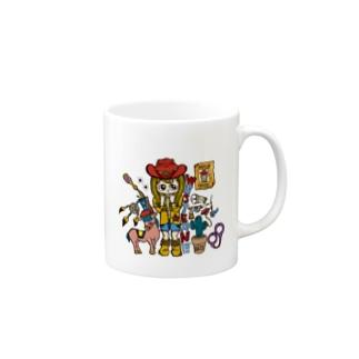 Marrow ウエスタン マグカップ Mugs