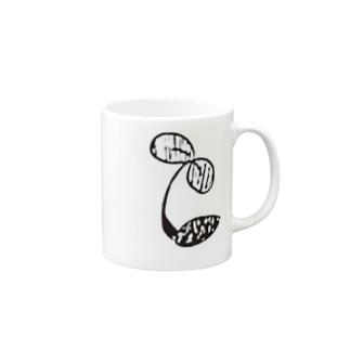 芽が生える Mugs