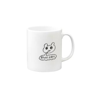 行かない Mugs